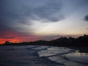 地中海の夕方 / The Mediterranean's sunset